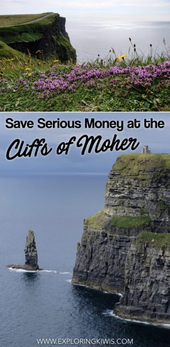 Save money on your entrance to the Cliffs of Moher in Ireland. Avoid the crowds on this famous European tourist attraction whilst enjoying spectacular views!  Plan your own Irish itinerary with this discounted entry guide.