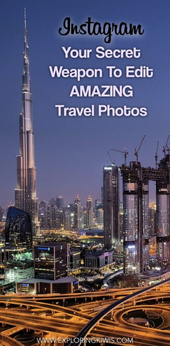 An easy guide to editing travel photos on your mobile phone. Instagram is your secret editing tool to bring out the best in your vacation snaps!