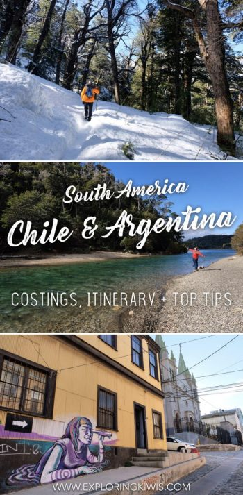 Headed to Chile and Argentina? Read our itinerary, transport guide, costings and top tips to help make the most of your South America travels. Whether you're working as a digital nomad or are on vacation, this will help you plan your trip!