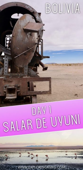 Day one at Salar de Uyuni, Bolivia. Find out why we recommend a four day itinerary and what we got up to on the first day of our visit to this amazing region in South America.