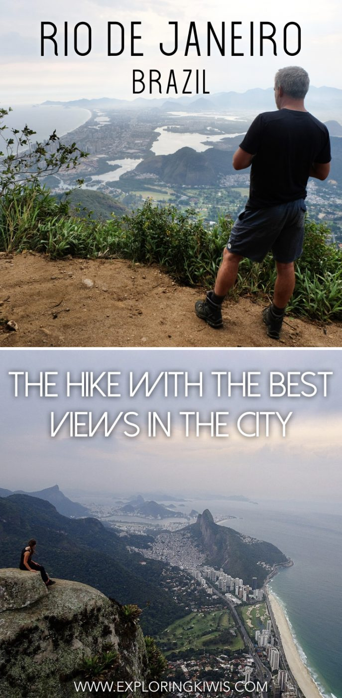 Rio de Janeiro is home to an amazing hike with incredible views.  It\'s challenging, including free-climbing but worth every step.  One for your bucket list next time you\'re in Brazil.