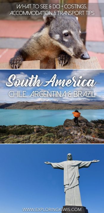 Costings, transport, accommodation and activity guide to Chile, Argentina and Brazil. Find out what we did over the course of our second month in South America, complete with a full budget to help you plan your adventure. Including Iguazu Falls, Rio, Patagonia and more!