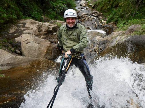 Canyoning Banos, Ecuador