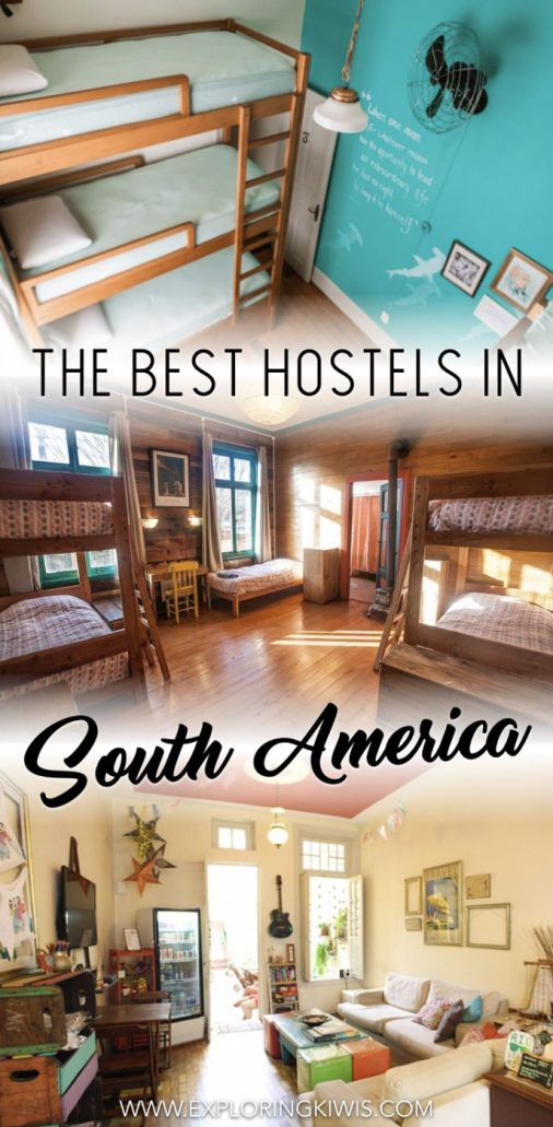 Find the best hostels in South America. Memorable backpackers in Chile, Argentina, Brazil, Bolivia, Peru, Ecuador and Colombia that offer comfort, friendship and value for money. Check out our collection of the very best accommodations on the continent from 6 months of travel...