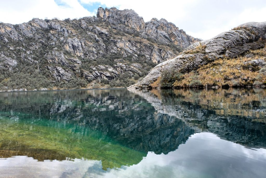 Laguna Churup water color