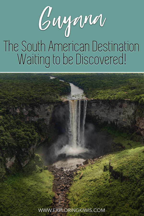 Everything you need to know about Guyana\'s biggest and best tourist attraction, the Kaieteur Falls.  The tallest single waterfall in the world, this is something that has to be seen to be believed - and if you\'re feeling especially brave, we\'ve got a challenge for you... #travel #southamerica #guyana #waterfall