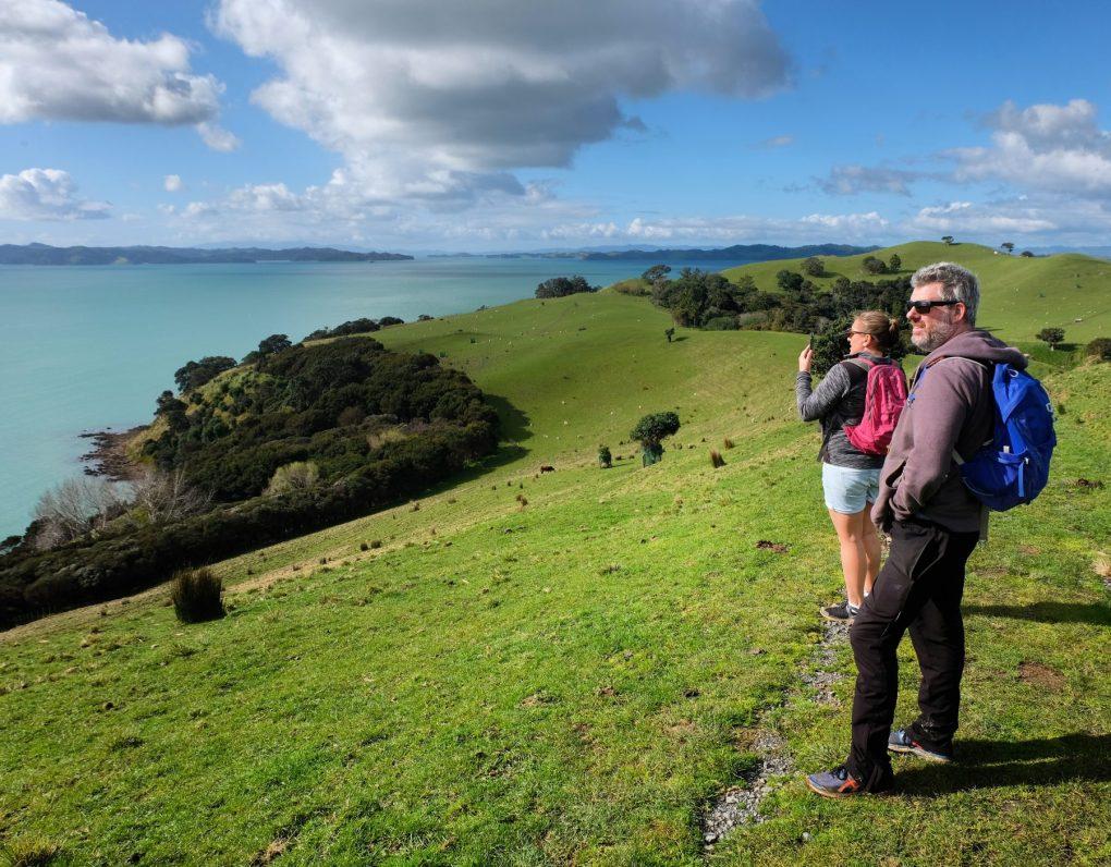 Ocean views over Duder Regional Park
