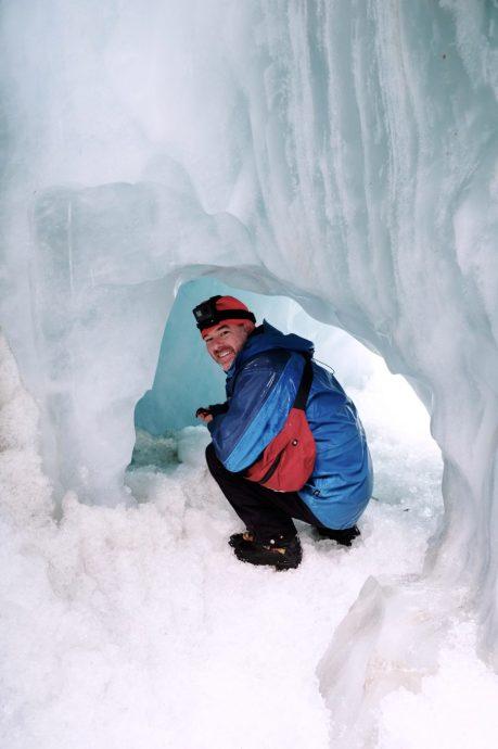 Heli ice hike 4