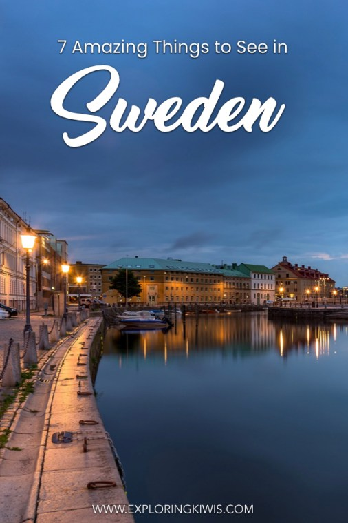 Sweden in a beautiful part of Scandinavia and in this post, we bring you the 7 most worthwhile places to visit and things to do. Don't miss this part of Europe! #travel #sweden #europe