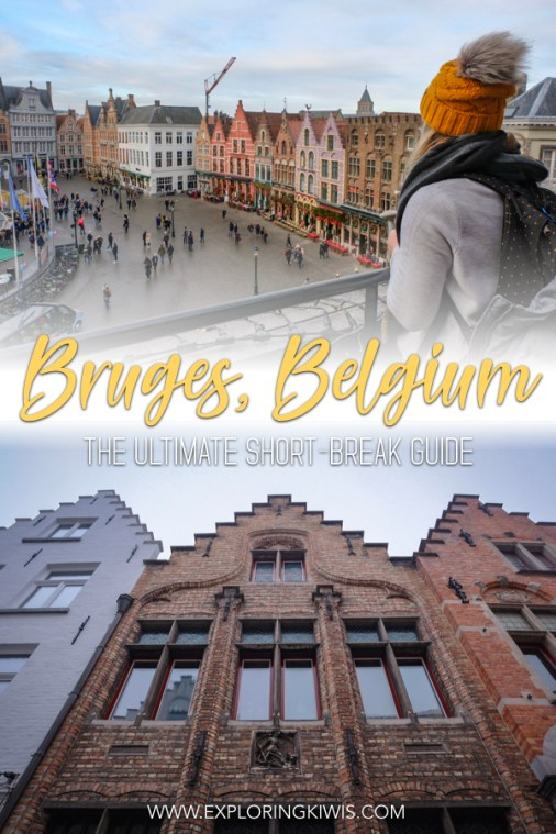 Plan a Bruges weekend break! Activity suggestions, accommodation, transport and more, this guide is all you need to book a quick trip away to our favourite Belgian city. #travel #belgium #bruges