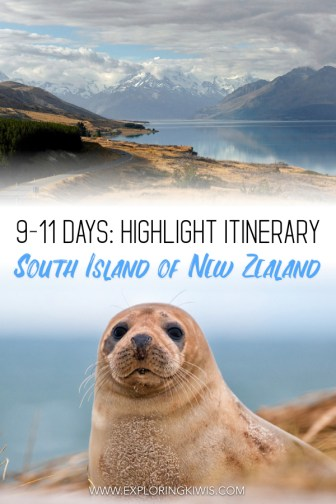 The South Island is the part of New Zealand people dream of when they think of our country, but it can be difficult to know exactly where to visit. This guide is perfect for people with 9 or more days to spend and is full of adventure, nature and pure NZ beauty. #newzealand #travel