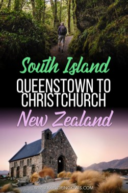 Queenstown to Christchurch Itinerary