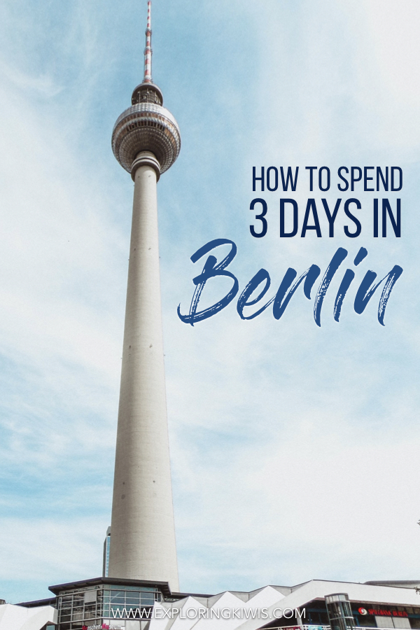 A detailed guide to help you plan 3 days in Berlin.  Germany\'s capital is exciting and full of history.  With an incomparable energy, there\'s really nowhere else in Europe that compares!  Our guide will help you decide just what to see, where to stay and how to get around.