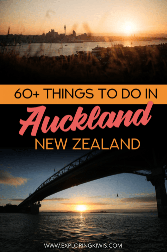 Auckland, New Zealand's largest and busiest city offers much in the way of culture, fun, nature and adventure. With over 60 ideas, this guide will help you plan your visit both in and around Auckland. What will you do first? #travel #newzealand