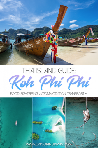 Koh Phi Phi is an island paradise in Thailand. Stunning beaches, a great party scene, incredible snorkelling and scuba diving and more, this guide shares tested food, activity, accommodation and transport recommendations.