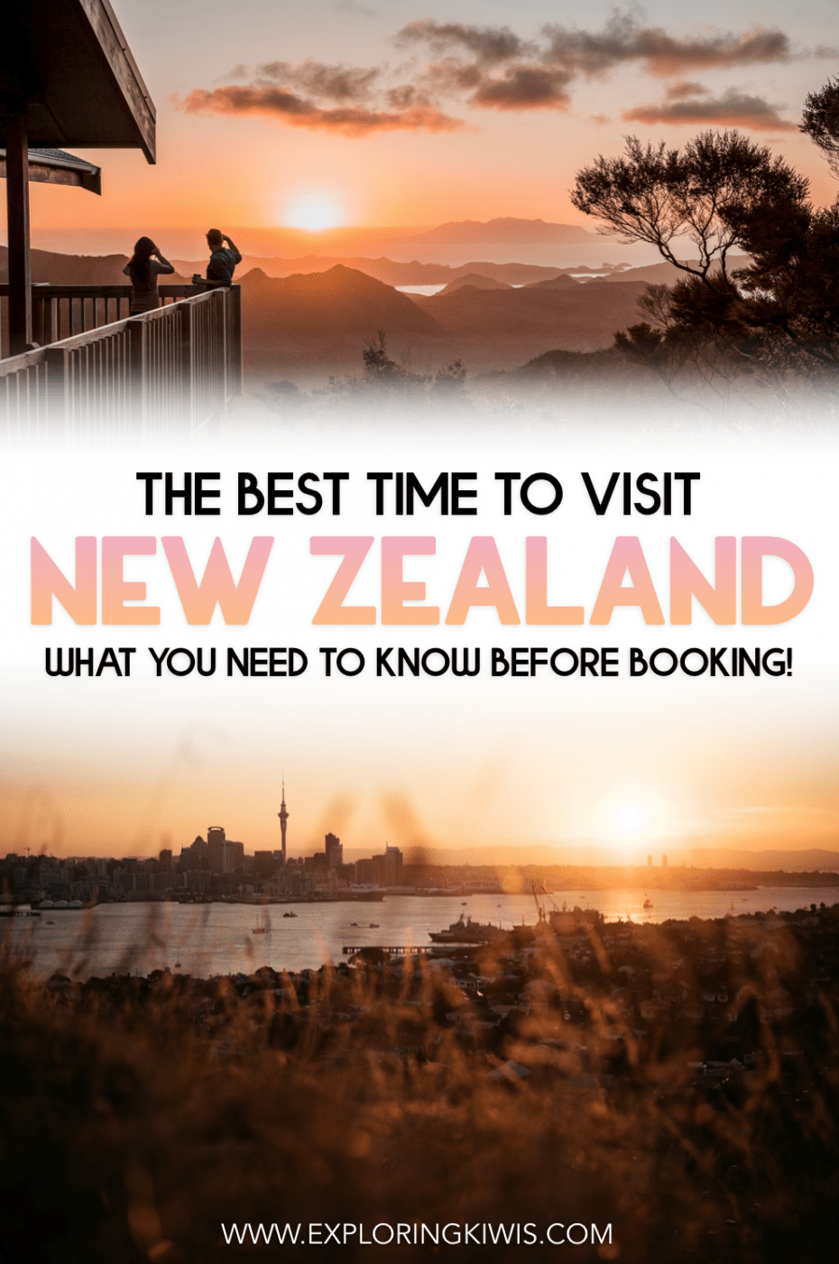 If you\'re wondering when the best time to visit New Zealand is, you have to read this guide! Covering off seasons, weather, school and public holidays and more, it will help you plan the very best vacation possible.