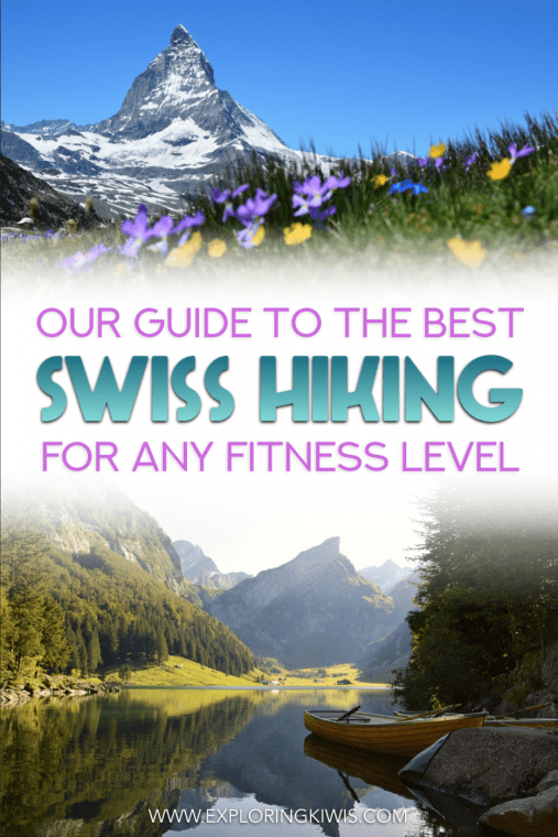 Switzerland is a hiking wonderland! Regardless of your level of fitness, this guide talks through the top 6 Swiss hikes. These are trails you just can't miss whilst in Europe's hiking capital!