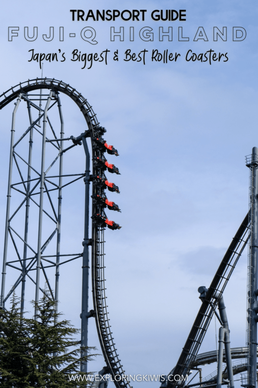 Fuji-Q Highland is home to the biggest and best roller coasters in all of Japan. This guide will help you to get there from Tokyo - be it an awesome day trip or overnight adventure at the base of Mt Fuji.