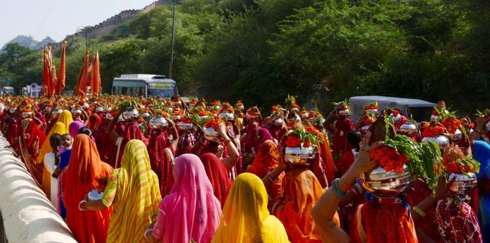 Hindu procession, Jaipur