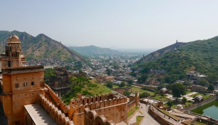 View from Amber Fort, Jaipur
