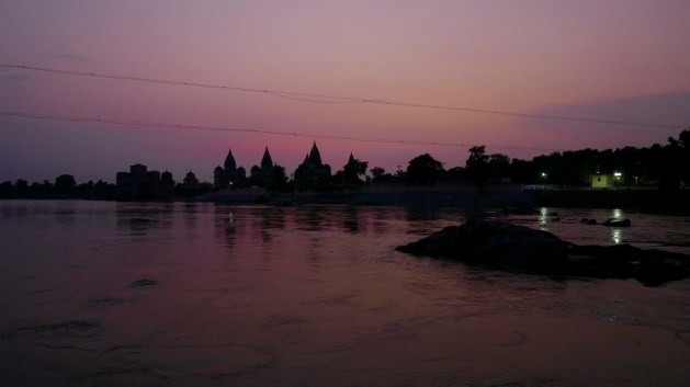 Orchha by night