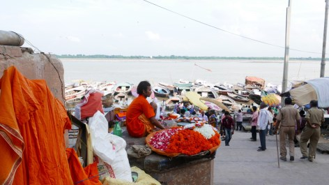 View on the Ganges, Varanasi