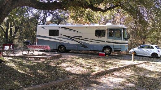 Big Blue at Abilene State Park