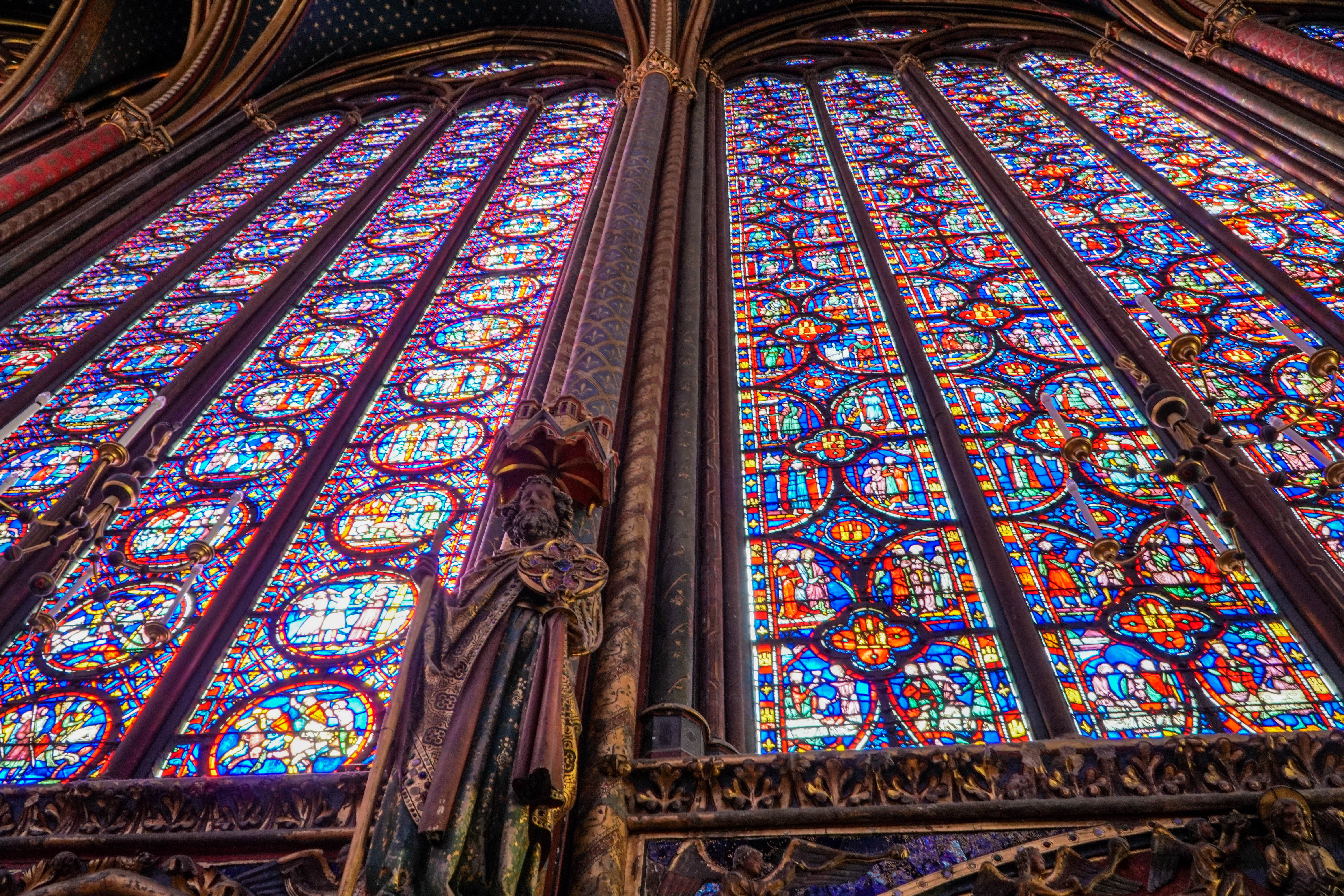 Ageless Beauty At Sainte Chapelle Exploring Our World
