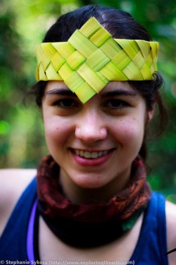 Amazon Rainforest Brazil forest jungle adventure travel jungle crown wild bamboo headpiece South America