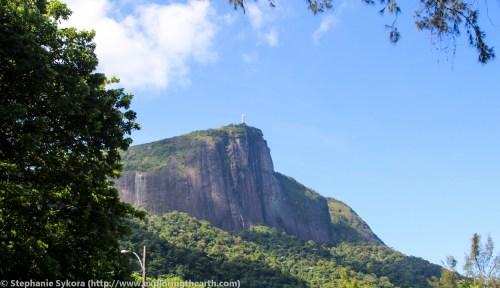 Christ the Redeemer in Rio de Janerio Brazil exfoliation dome South America rainforest Atlantic adventure travel