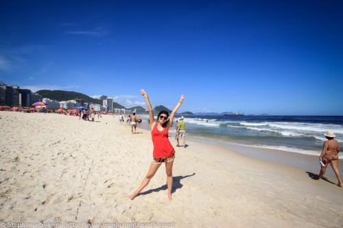 Copacabana Beach Rio de Janeiro Brazil South America famous Adventure Travel