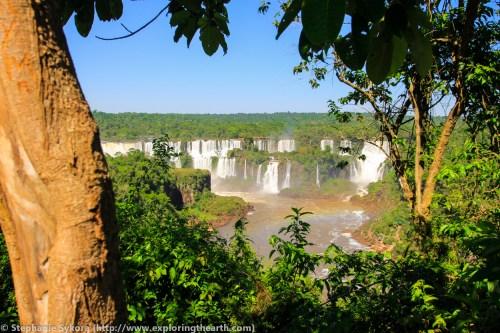 Iguazu Iguasu Iguassu Falls 7 Wonders of World Brazil Travel Rainforest adventure South America