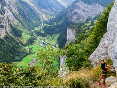 Switzerland Europe Alps Swiss Travel Jungfrau Lauterbrunnen Adventure Mountains Glacier Rock Climbing Via Ferrata Snow Geology Formation Plate Tectonics Photography
