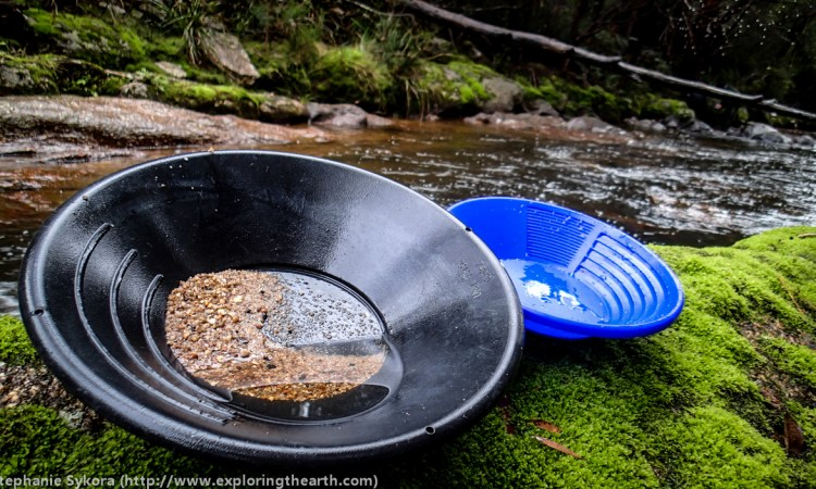 Geology, Tasmania, Australia, panning, gold, sapphires, gemstones, gem stones, ruby, sapphire, river, adventure, blog, outdoors, geomorphology, how to, nature, prospecting, fossicking, gear, pan, shovel, bucket