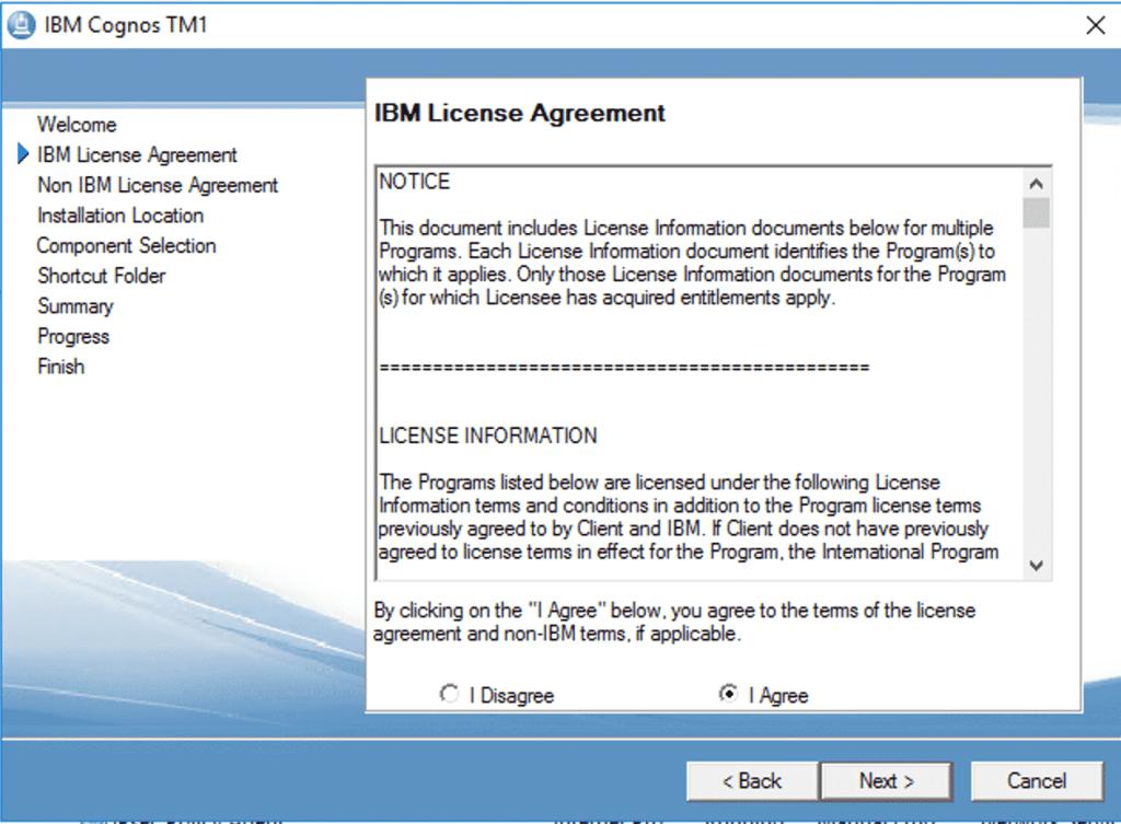 Upgrade TM1