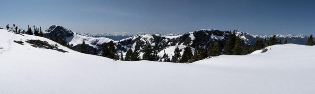 Taken from Rodgers Ridge, the northeast ridge leading to Mount Adrian