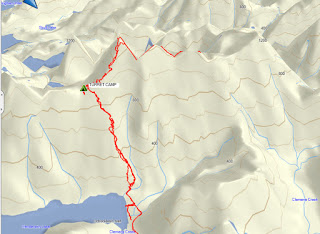 Uchucklesit Peak Map and GPS Route