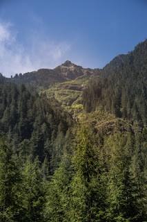 Hiking in the Alberni Valley and Henderson Lake Region to Uchucklesit Peak