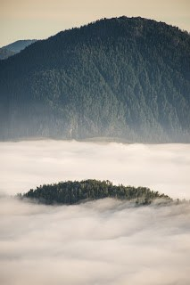 shot from Uchucklesaht Peak