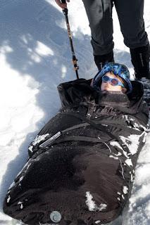 Matthew Lettington built a new pulk sled. - Vancouver Island Pulk 2.0