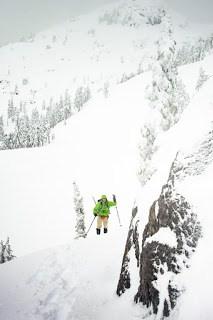 snowshoe trips in Vancouver Island's alpine