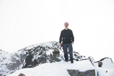 Rick -- all smiles on the summit of Peak 5800