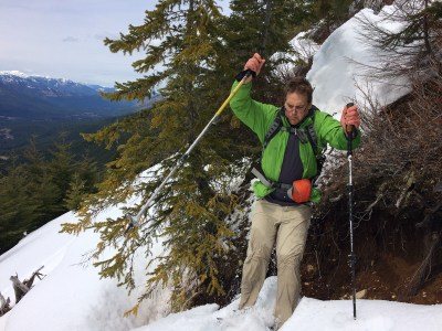 hiking vancouver island, mountaineering, Waring Peak in the Sutton Range