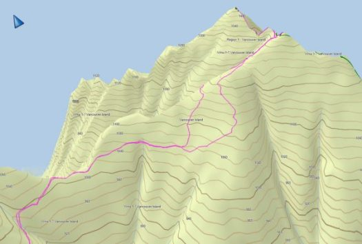 Mount Spencer GPS track & map