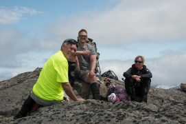 on the summit of Mount Judson