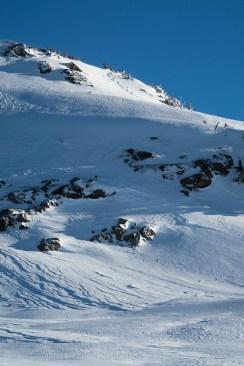 the final few metres to the summit on Moun Adder