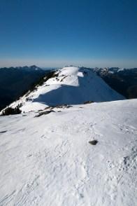 Adder Mountain's summit ridge