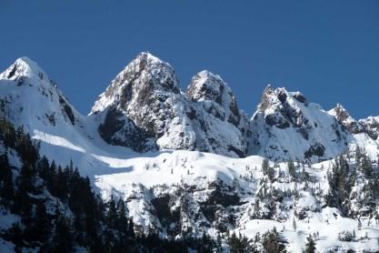 Peaks of the Mackenzie Range