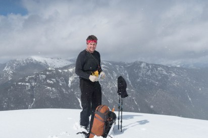 summit of Mount Flannigan; Strathcona Park Vancouver Island