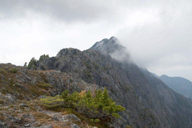 Watchtwower Peak, Vancouver Island hiking